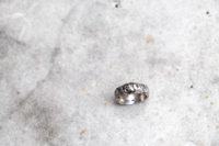 Chiseled Mountain band Ring